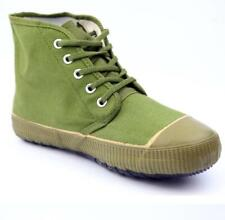 New Men Wearproof Military Sneaker High Top Boots Lace Up Non-Slip Canvas Shoes