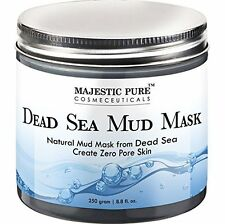 Majestic Pure Natural Dead Sea Mud Mask Facial Cleanser 8.8 fl oz