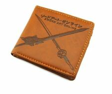 Anime Sword Art Online Cosplay PU Wallet Mens Boys SAO Purse Card Holder New