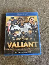 Valiant (Blu-ray, 2019) Vegas Golden Knights VGK BRAND NEW Fluery, Schmidt ++