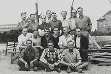 Photo-carte tirage argentique 1942 prisonniers Stalag VII B Memmingen