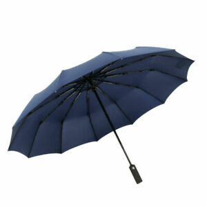 Choedii 10 Ribs Auto Windproof Umbrella Waterproof Portable  Teflon Coating