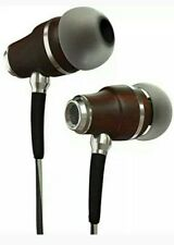 Symphonized NRG 3.0 Earbuds Headphones, Wood In-ear Noise-isolating Earphones