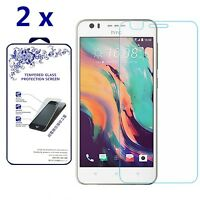 [2-Pack] For HTC Desire 10 Pro Premium Tempered Glass Screen Protector 9H Glass
