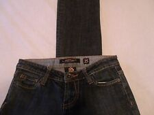 ED HARDY Skinny Jean Juniors Size 25 Stretch Comfort 28 X 32  E2