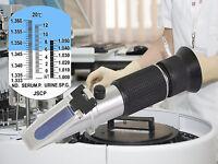 Refraktometer Serum Protein Urin Dichte für Tierarzt Veterinärmedizin