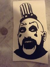 captain spaulding decal devils rejects house of 1000 corpses