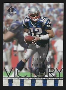 💥 2002 Tom Brady SP Legendary Cuts Victory March 💥 GOAT /2500