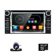 Free Camera Car Stereo DVD GPS For Toyota Alphard Corolla Camry Yaris MR2 RAV4