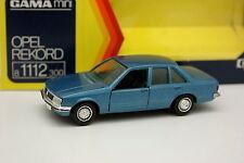 Gama 1/43 - Opel Rekord Blau