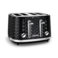 Morphy Richards Black 4 Slice Toaster Vector 248131