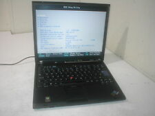 Lenovo Thinkpad T60 Core Duo 1.83Ghz ATI Laptop spares/repair. OK No HDD Q1