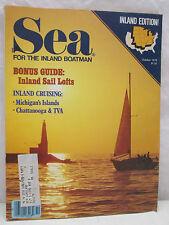 Sea Magazine For The Inland Boatman October 1978 Bonus Guide Inland Sail Lofts