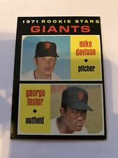 1971 Topps #276 George Foster Giants RC Ex Vintage Combined Shipping