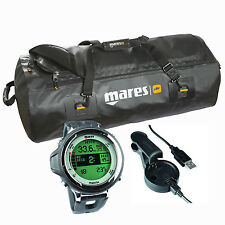 Mares Matrix Black with Usb Interface + Mares Attack Titan Bag 02UK
