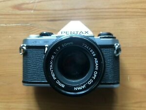 Pentax ME Super with SMC Pentax-M 50mm f1.7 lens