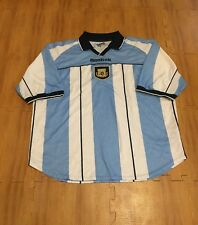 Argentina National Soccer Team 2000-01 Season FIFA Adult 46-48 L Reebok Jersey