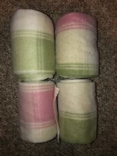 Horse Polo Wraps - Pink And Green Plaid