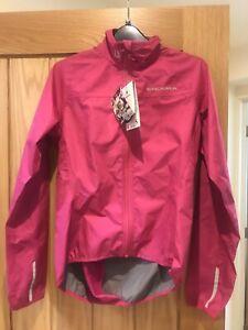 Endura Xtract Womens Cycling Jacket Cerise Small Brand New RRP £69.99