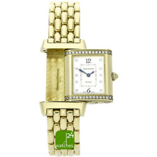 JAEGER LE COULTRE Reverso 750 Gold Lady Diamanten 265.1.08