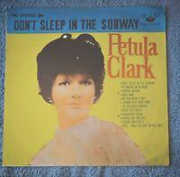 "Petula Clark 12 Inch Vinyl LP "" Don't Sleep In The Subway """
