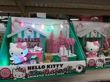 HELLO KITTY SANRIO ANIMATED CANDY SHOP CHRISTMAS HOLIDAY Light Up w/Music New