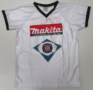 Chicago Fire Jersey Mens Large White Makita Promo #10