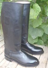 MUX leather handmade 501st Imperial Officer Riding Boot UK 5 - 12