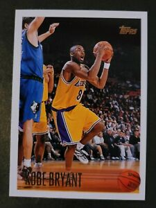 1996-97 Topps Kobe Bryant Los Angeles Lakers RC Rookie  PSA ??