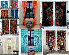 Small Window Curtain Tapestry Elephant Mandala Wall Hanging Door Window Curtain
