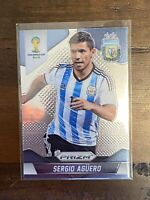 2014 Panini Prizm World Cup Sergio Aguero Argentina Soccer Card #13