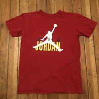 Nike Air Jordan Jumpman T-Shirt Men's Red Size Large