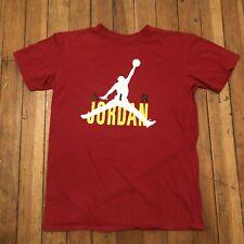 Nike Air Jordan Jumpman T-Shirt Men's Red Size Large
