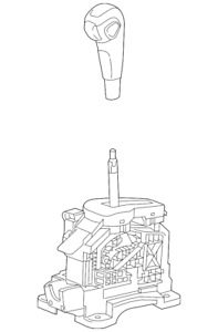 Genuine GM Shifter Assembly 42514238