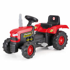 NEW KIDS DOLU RIDE ON RED PEDAL TRACTOR
