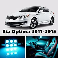 11pcs LED ICE Blue Light Interior Package Kit for Kia Optima 2011-2015