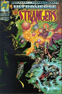 STRANGERS #16 1994 MALIBU -PARTY TIME-ULTRAVERSE- ENGLEHART/ HOBERG...VF-