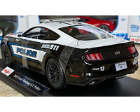 2015 Ford Mustang GT Maisto Police 1/18  Diecast Special Edition Model Car NEW