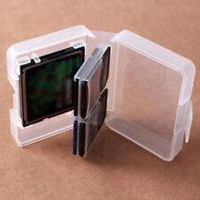 Cf card compact flash memory card holder box storage transparent plastic case'