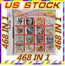 TOP 468 in 1 Video Games Cartridge Cards For DS NDS 2DS 3DS NDSI NDSL FAST SHIP