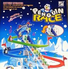 Penguin Race Slide Game Classic Racer Track With Rythmic Music Kids Toys
