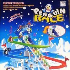 Penguin RACE Slide gioco Classic Racer Pista con Ritmica Musica Bambini Giocattoli