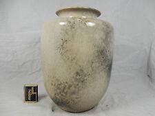 Formschöne Richard Uhlemeyer Keramik Vase farbige Reduktionsglasur 26 cm