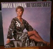 DIONNE WARWICK - HEARTBREAKER 1982 204 974 ARISTA RECORDS VINYL LP ALBUM RECORD
