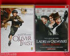 dvd film ladri di cadaveri burke & hare john landis oliver twist roman polanski