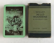 Vintage Wills's Wild Woodbine Cigarette Playing Cards