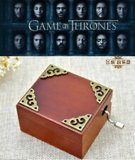 Vintage Hand Crank Music Box ♫ Game Of Thrones - Winter Is Coming ♫