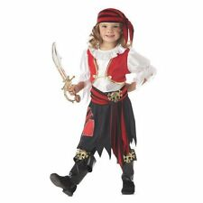 PENNY THE PIRATE BUCCANEER GIRLS HALLOWEEN COSTUME TODDLER SIZE MEDIUM 2-4T