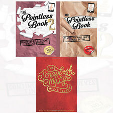 Alfie Deyes Collection 3 Books Set NEW The Pointless Book 2,Scrapbook of My Life