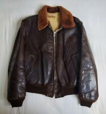 Vintage 1950's era Mens Leather Jacket